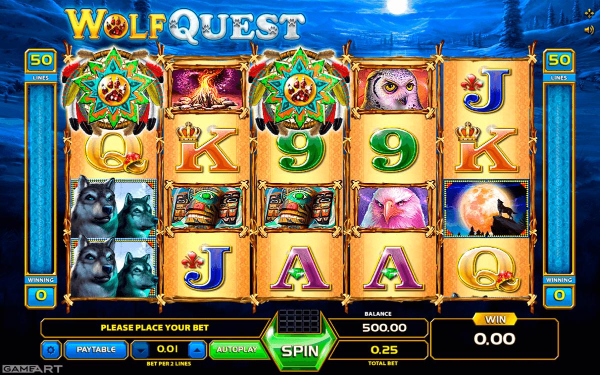 Wolf Quest Online