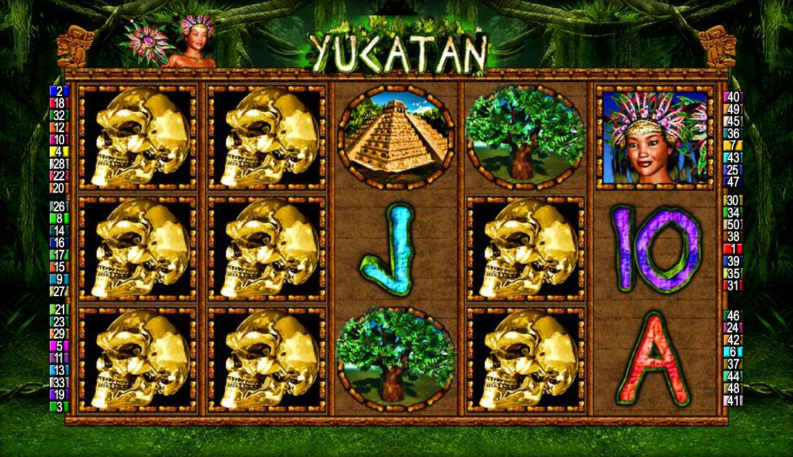 Spiele Yucatan - Video Slots Online